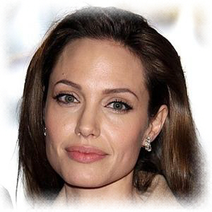 Cleft Cheek Angelina Jolie s mouth is her