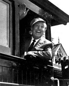 Walt Disney waving