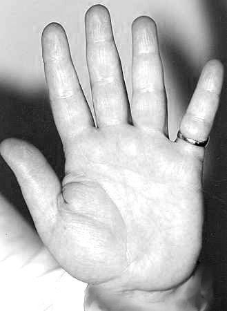 Five Fingers: Short Saturn finger